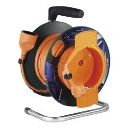 Prodlužovací kabel na bubně 1-z 50m 3x1,5 PVC