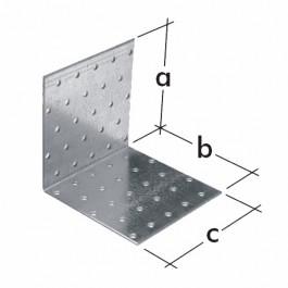 Spojovací tesařsky úhelník KM 14, D 00614 (40x40x100x2)