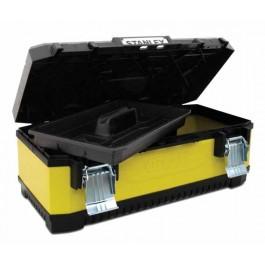 "Kufr 26""(66cm) STANLEY kov/plast (žlutý)"