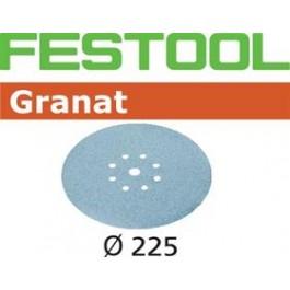 FESTOOL krążki ścierne STF D225/8P120 GR/25