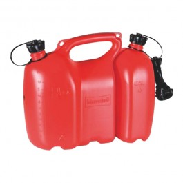 Kombinovaný kanistr 6l + 3l, červený