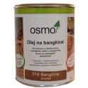 Speciální oleje na dřevo - exotické dřeviny 0,75l, bangkirai
