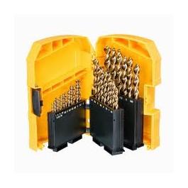 DEWALT vrták do kovu EXTREME 2 1-13mm, sada 29-d