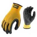 DEWALT DPG70 rukavice L(10) textúrované gumou potiahnuté s gripom