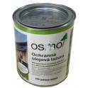 Ochranná olejová lazura na dřevo - 0,75l jedlově zelená 729