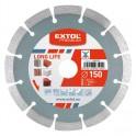 EXTOL 108911 DIA kotúč rezný 115mm segmentový LONG LIFE