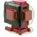 FORTUM samonivelačný laser 3D zelený lúč 4780216