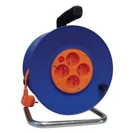Kabel prodlužovací na bubně 50m 3x1,5mm guma 4x