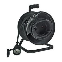 Kabel prodlužovací na bubně 50m 3x1,5mm guma 1x