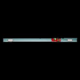 Łata budowlana Al z 2 libellami i 2 uchwytami 200cm SOLA