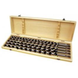 Spirálové vrtáky do dřeva 460mm sada 6ks (10-20mm)