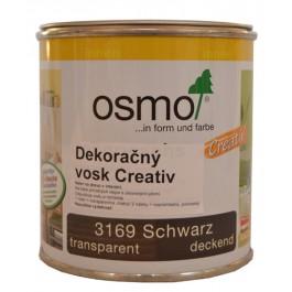 Dekorační vosk Creativ - 0,375l černá 3169
