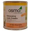 Dekorační vosk Creativ - 0,375l korál 3183