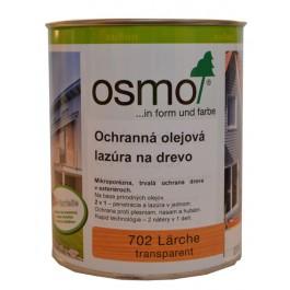 Ochranná olejová lazura na dřevo - 0,75l modřín 702