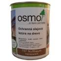 Ochranná olejová lazura na dřevo - 0,75l ořech 707