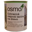 Ochranná olejová lazura na dřevo - 2,5l bílá 900