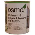 Ochranná olejová lazura na dřevo - 0,75l bílá 900